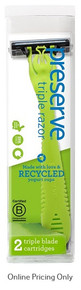 Preserve Recycled Razor + 2 Cartridges
