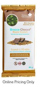 NewCo Brocco-Chocco Maple Crunch Chocolate Bar 80g