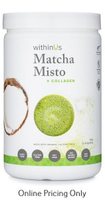 WithinUs Matcha Misto + Collagen 280g