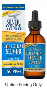 Silver Wings Colloidal Silver 50PPM 60ml