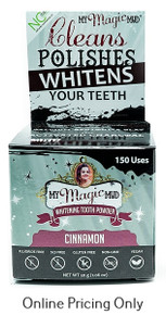 My Magic Mud Activated Charcoal Tooth Powder Cinnamon 30g
