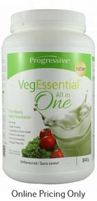 Progressive Veg Essentials Unflavoured 840g