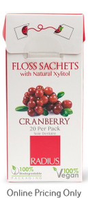 Radius Cranberry Floss 1pk/20pcs