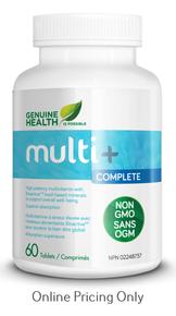 Genuine Health Multi+ Complete 60tabs