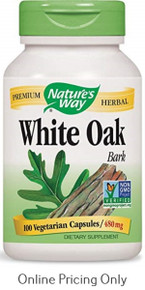 Nature's Way White Oak 480mg 100caps