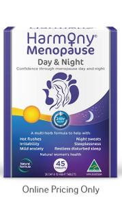 Martin & Pleasance Harmony Menopause Day & Night 45tabs