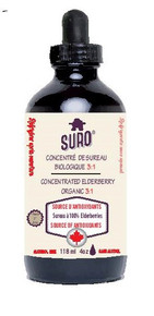 Suro Concentrated Elderberry Organic 118ml