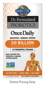 Dr. Formulated Probiotics Once Daily 30 Billion 30vcaps