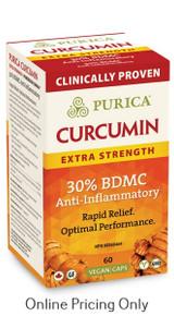 Purica Curcumin Extra Strength 60vcaps