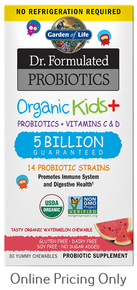 Dr. Formulated Probiotics Organic Kids+ 5B Watermelon 30chew