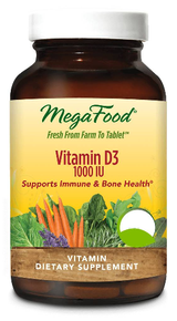 Megafood Vitamin D3 72tabs