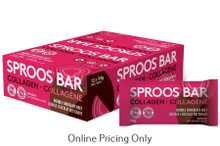 Sproos Collagen Bar Double Chocolate Beet 12 X 54g