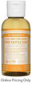 Dr Bronners Citrus Soap 59ml