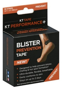 KT Performance Blister Prevention Tape Black 30pcs
