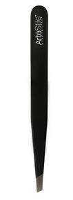 ArteStile Slant Tip Tweezers Black