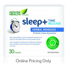 Genuine Health Sleep+ Time Release (Blister Pack) 30caps