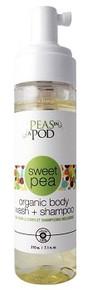 Peas in a Pod Sweet Pea Foaming Baby Body Wash 210ml