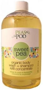 Peas in a Pod Sweet Pea Foaming Baby Body Wash Refill 500ml