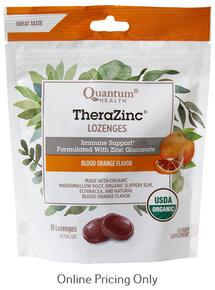 Quantum Health TheraZinc Orange Lozenges 18loz
