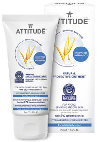 Attitude Sensitive Skin Natural Protective Ointment 75ml