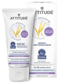 Attitude Sensitive Skin Natural Deep Repair Cream 75ml