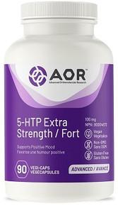 AOR 5-HTP Extra Strength 100mg 90vcaps