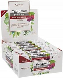 Quantum Zinc Echinacea Lozenges Box 14loz x 12 Rolls