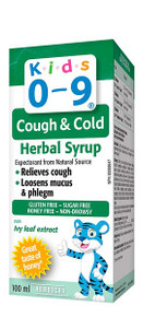 Homeocan Kids 0-9 Cough & Cold Herbal Syrup 100ml