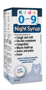 Homeocan Kids 0-9 Cough & Cold Nighttime 250ml