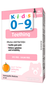 Homeocan Kids 0-9 Teething Solution 25ml