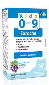 Homeocan Kids 0-9 Earache Solution 25ml
