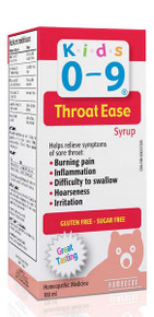 Homeocan Kids 0-9 Throat Ease 100ml