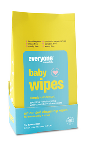 Everyone Soap for Baby Wipes Simply Unscented 30ct
