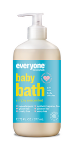 Everyone Soap for Baby Bath Unscented 377ml