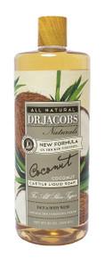 Dr Jacob Naturals Face & Body Wash Coconut 946ml