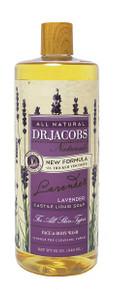 Dr Jacob Naturals Face & Body Wash Lavender 946ml
