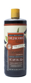 Dr Jacob Naturals Face & Body Wash Charcoal 946ml