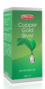 Homeocan Copper-Gold-Silver Trace Minerals 100ml