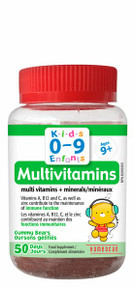 Homeocan Kids 0-9 Multivitamin Gummies 50ct