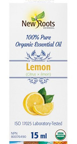 New Roots Lemon Essential Oil 15ml