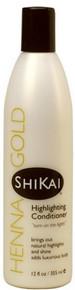 Shikai Henna Gold Highlighting Conditioner 355ml