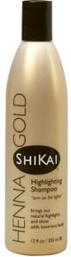 Shikai Henna Gold Highlighting Shampoo 355ml