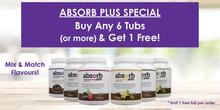 ABSORB PLUS - FREE TUB