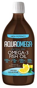 Aquaomega Omega-3 Fish Oil Lemon 225ml