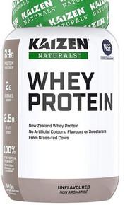 Kaizen Naturals Whey Protein Unflavoured 840g