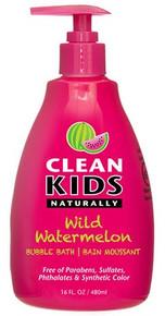 Clean Kids Bubble Bath Wild Watermelon 480ml
