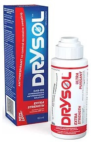 Seaford Drysol Extra Strong 20% Dab-On Antiperspirant 60ml