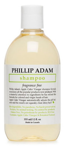 Phillip Adam Apple Cider Vinegar Shampoo Fragrance Free 355ml