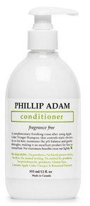Phillip Adam Apple Cider Vinegar Conditioner Fragrance Free 355ml