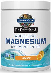 Dr Formulated Whole Food Magnesium Orange 419.5g